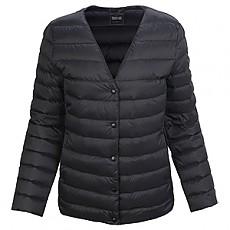 프리미엄 여성 경량 구스 자켓 블랙